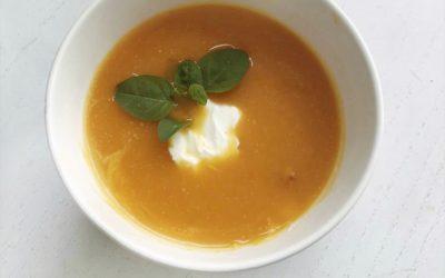 Recept voor pompoensoep